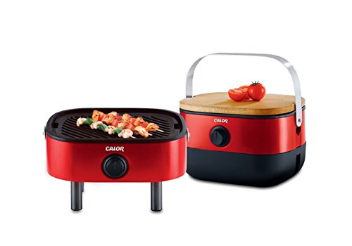 Calor Mini BBQ is portable so it is perfect for picnics or travelling....