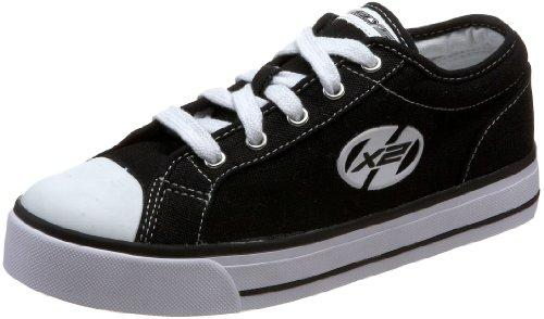 Heelys Jazzy Shoes - Black White - UK 13 (Jnr)