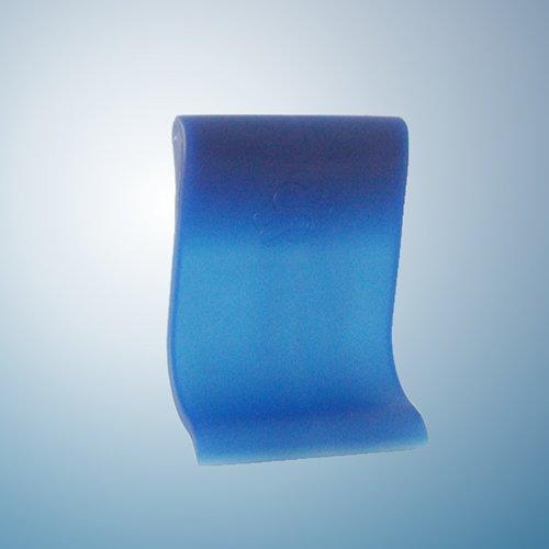 Sp/ätzlereibe mit Spezialschaber f/ür lange und kurze Sp/ätzle und 4 Teigkarten blau