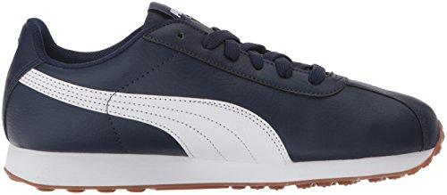 Puma Mens Turin Mode Sneaker Peacoat-puma Blanc