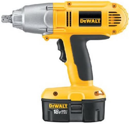 DEWALT DW059K-2 18-Volt NiCad 1 2-inch Cordless Impact Wrench Kit