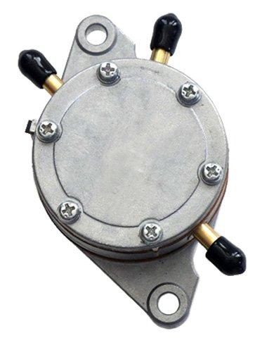 Mikuni Fuel Pump Round Bracket Mount 2 Outlet 35 LPH DF52-176 ()