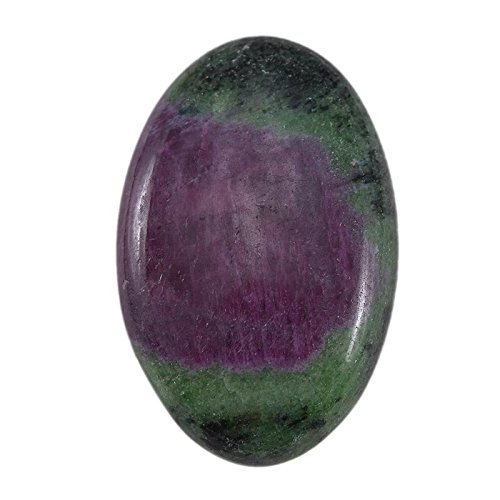 divineimpex 93.5 CTS 100 %の自然Ruby Zoisite Oval Cabochon Loose宝石pg-120181   B0762N1WN2