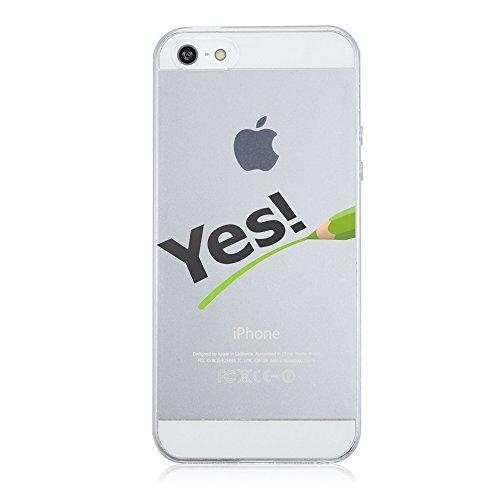 "Price comparison product image iPhone 5 5S SE Case Ultra Slim TPU Soft Shock Absorption & Anti-fingerprint Cover Apple 5 5S SE- 4"" (8, iPhone 5 5S SE)"