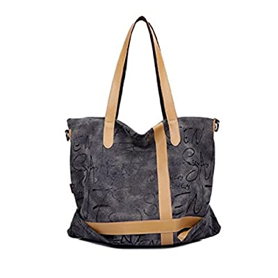 Women's Durable Tote Bag Daily Hand Bag Lady Shoulder Shopping Bag Cross-body Bag
