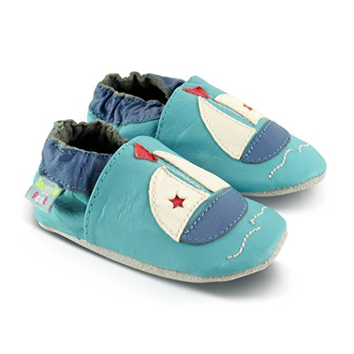 Snuggle Feet Babyschuhe Leder weich - Lion | 6-12 Monate Boot