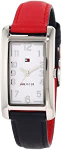 Tommy Hilfiger Women's 1781112 Classic Red and Navy Reversible Watch