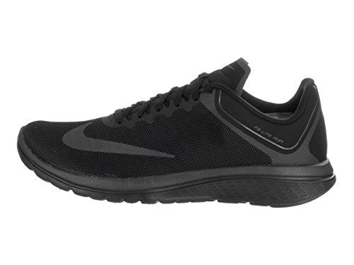 Nike Dames Fs Lite Run 4 Hardloopschoen Zwart / Antraciet