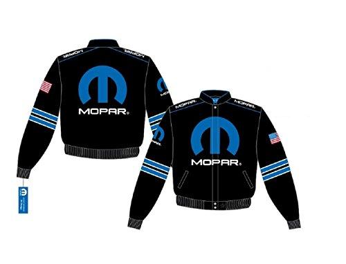 Dodge Mopar Embroidered Cotton Jacket black JH Design Generic XLarge by J.H. Design (Image #5)