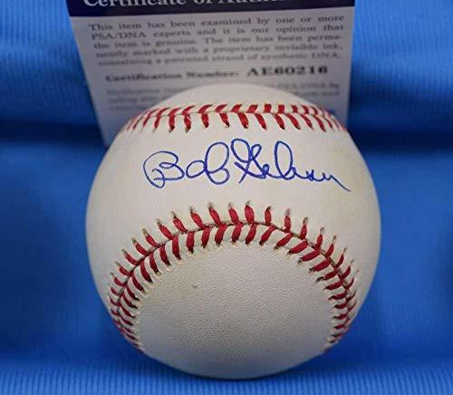 Bob Gibson Signed Baseball - Coa National League - PSA/DNA Certified - Autographed Baseballs