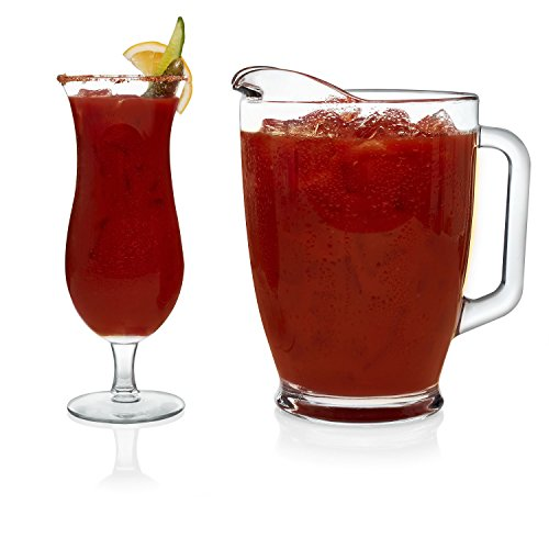 Bloody Mary Glasses (Libbey Modern Bar 5-piece Bloody Mary Glass Set)
