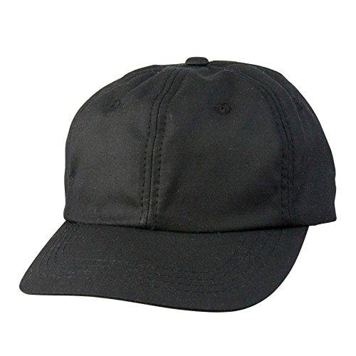 Conner Hats Men's Kentucky Waterproof Oiled Cotton Cap, Black, OS