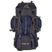 Belvie 601 Hiking Backpack 60l (Dark blue, 60 liter)