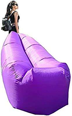 Excellent Amazon Com Rbh Inflatable Recliner Air Sofa Hammock With Ocoug Best Dining Table And Chair Ideas Images Ocougorg