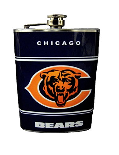 chicago bears flask - 5