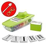 Valuetool Vegetable Shredder Lattice Cutter - Mandoline slicer for Carrot, Zucchini, Cucunber, Cabbage and Potato