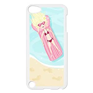 iPod Touch 5 Case White Summer Vacation B6F7YM