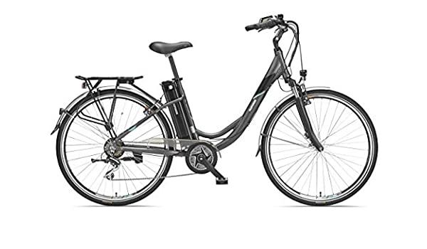 Bicicleta eléctrica Telefunken de aluminio de 28 pulgadas con ...