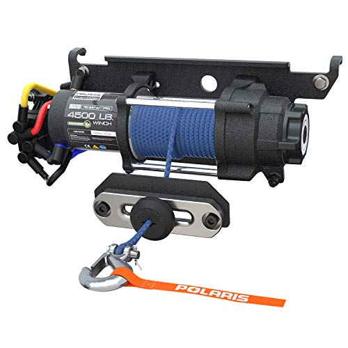 - Polaris RANGER XP 1000(18-19) XP1000 CREW (19) PRO HD 4,500 Lb. Winch with Rapid Rope Recovery - 2882711