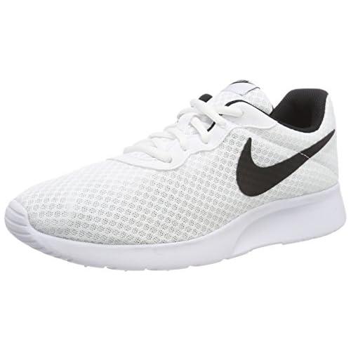 Nike Tanjun Zapatillas de Running para Hombre Blanco White Black 101 41 EU