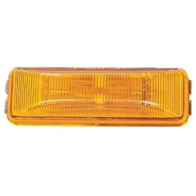 "Peterson Manufacturing 154A Amber 3-13/16"" Side Marker Light: Automotive"