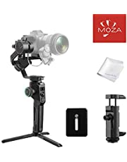 MOZA AirCross 2 Stabilizer 3-Axis Handheld Lightweight Powerful Gimbal for Camera Up 7Lb Intuitive Control Panel Intelligent Features Advanced Shooting Modes 12h Battery Life Beyond Your Imagination (MOZA AirCross 2)