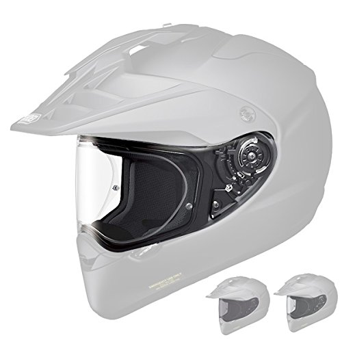 Shoei CNS-2 Visor Off-Road Motorcycle Helmet Accessories - Clear/One Size 01-70557