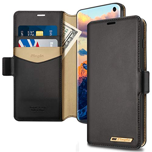 Galaxy S10E Case, Samsung S10E Wallet Case, Fingic...