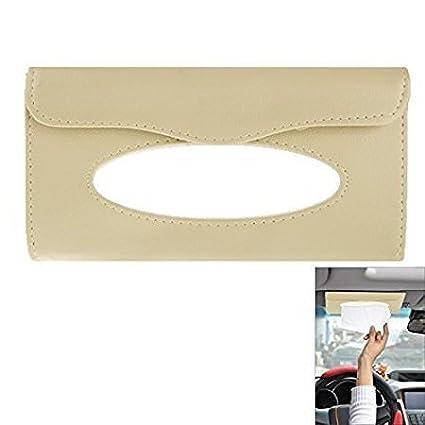 CVANU® Car Sun Visor Tissue Paper Box Case Auto Interior Decoration  Accessories Holder (Grey) For Maruti Suzuki Alto 800  Amazon.in  Car    Motorbike 0dfd5ef0696