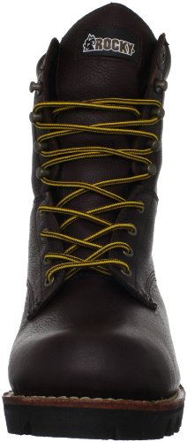 Rocky Mens Great Oak 9 Logger Work Boot Brown v8VRKtdNM1