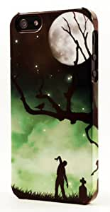 Zombie Walking In Cemetary Dimensional Case Fits iPhone 4 or iPhone 4s