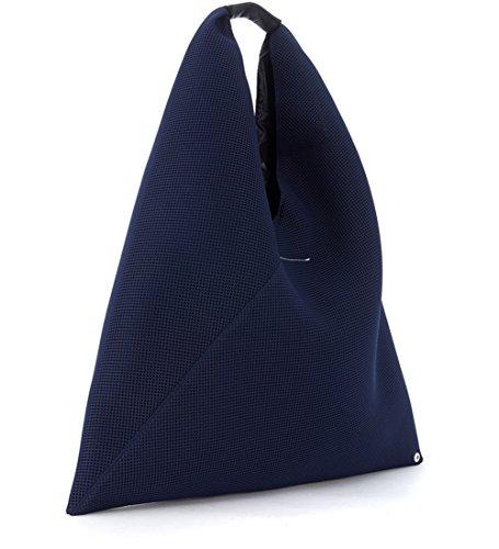 MM6 Maison Margiela Shopper in Netzstoff Blau