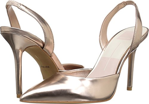 Dolce Vita Women's Maureen Pump, Rose Gold/Metallic Stella, 8 Medium US - Dolce Vita Womens Rose