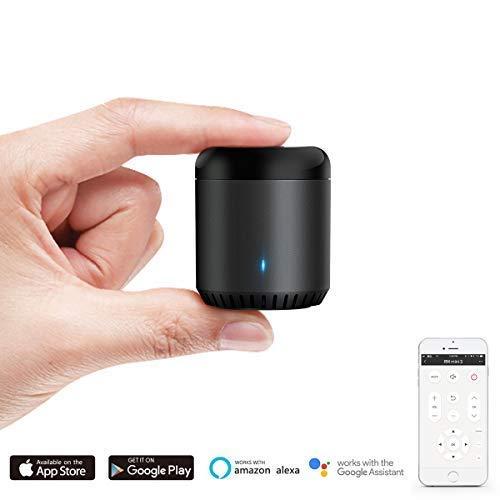 Broadlink RM Mini3 Black Bean Universal Remote, WiFi + IR