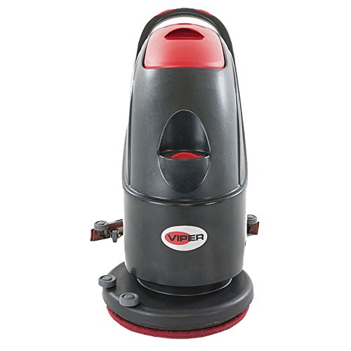 Viper Cleaning Equipment 50000243  AS510B Cord/Electric Scrubber, 20'' Brush, Battery Powered, 10.5 gal Tank, 31.1'' Squeegee Width, 150 rpm's Brush Speed by Viper Cleaning Equipment