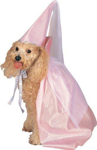 Pink Fairy Princess Dog Costume, (Fairy Princess Pet Halloween Costume)