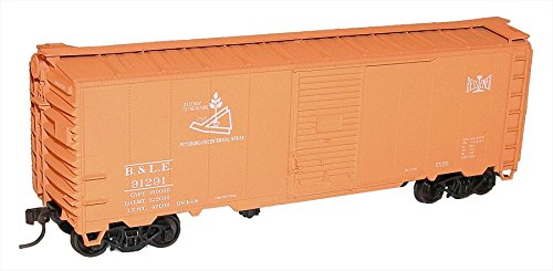 Accurail HO AAR 40' Single-Door Steel Boxcar - Bessemer & Lake Erie (Aar Boxcar Single Door)