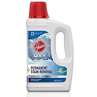 Hoover Oxy Deep Cleaning Carpet Shampoo, Concentrated Machine Cleaner Solution, 50oz Formula, AH30950, White