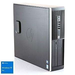 Hp Elite 8300 - Ordenador de sobremesa (Intel Core i5-3470, 8GB de RAM, Disco HDD de 500GB, Lector DVD, Windows 10 PRO ES 64) - Negro (Reacondicionado) 9