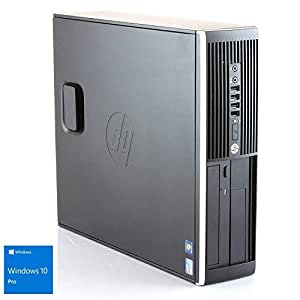 Hp Elite 8300 - Ordenador de sobremesa (Intel Core i5-3470, 8GB de RAM, Disco HDD de 500GB, Lector DVD, Windows 10 PRO ES 64) - Negro (Reacondicionado Certificado)