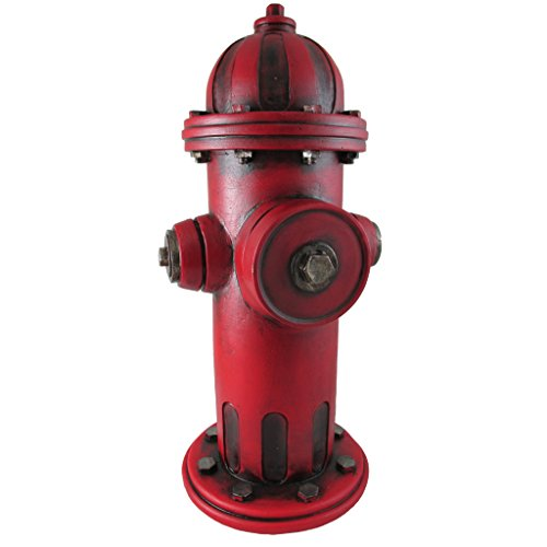 Pine Ridge Fire Hydrant for Dogs, 14 inch Outdoor Garden Statue, Yard Decoration, Lawn Ornament
