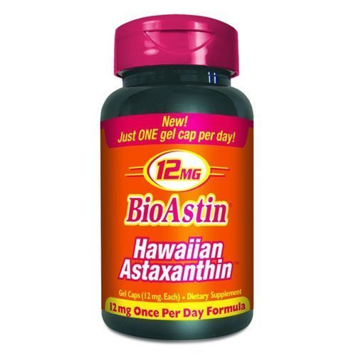 Nutrex BioAstin Hawaiian Astaxanthin (12 mg One per Day Formula) 150 ct ((Value Size))