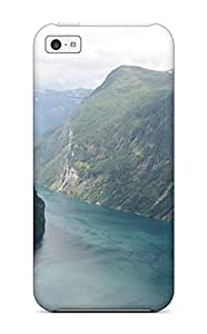 New Arrival Cover Case With Nice Design For Iphone 5c- Fiord Of Art Norway Fiords Nature Other wangjiang maoyi