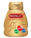 Revital Multivitamin - Revital H Daily Health Supplement - 60 Capsules