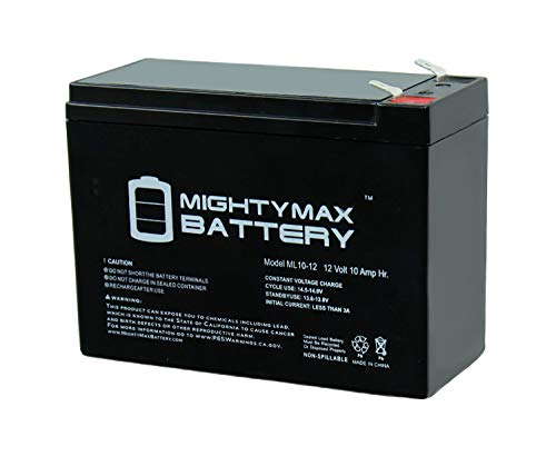 L10-12 - 12V 10AH SLA Replacement AGM Battery for Power Patrol SLA1097 Brand Product ()