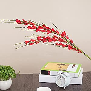 zhENfu Hi-Q 1Pc Decorative Flower Primrose Wedding Home Table Decoration Artificial Flowers 47