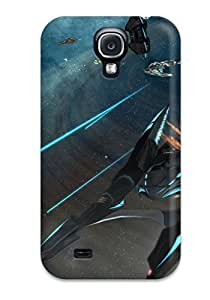 Snap-on Case Designed For Galaxy S4- Spaceship