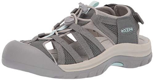 KEEN Women's Venice II H2 Water Shoe, Castor Grey/London Fog, 9 M US