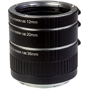 how to use extension tubes canon