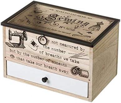 D,casa - Caja costurero de Madera Vintage para Dormitorio France: Amazon.es: Hogar
